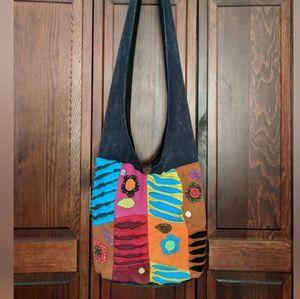 Handbags - Crossbody BOHO cloth bag